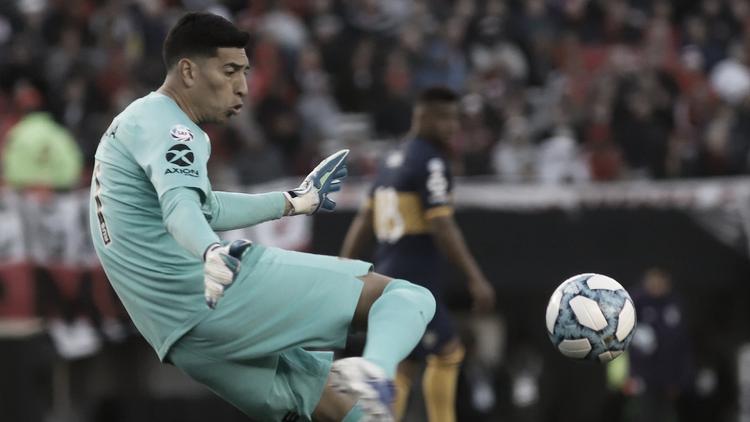 """Esteban Andrada: """"Boca siempre es candidato en todas las competiciones"""""""