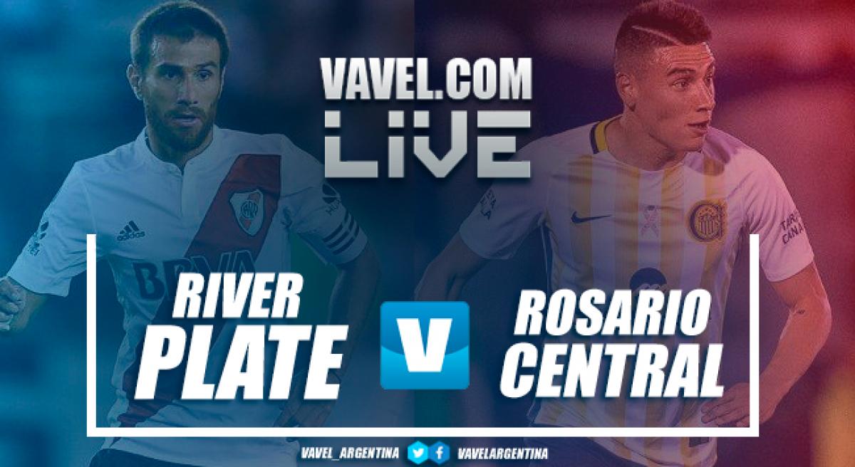 River Plate 2-0 Rosario Central: el Millo sigue en la buena senda