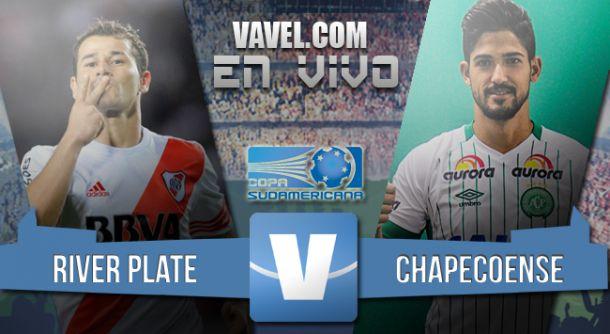 Resultado partido River - Chapecoense por Copa Sudamericana 2015 (3-1)