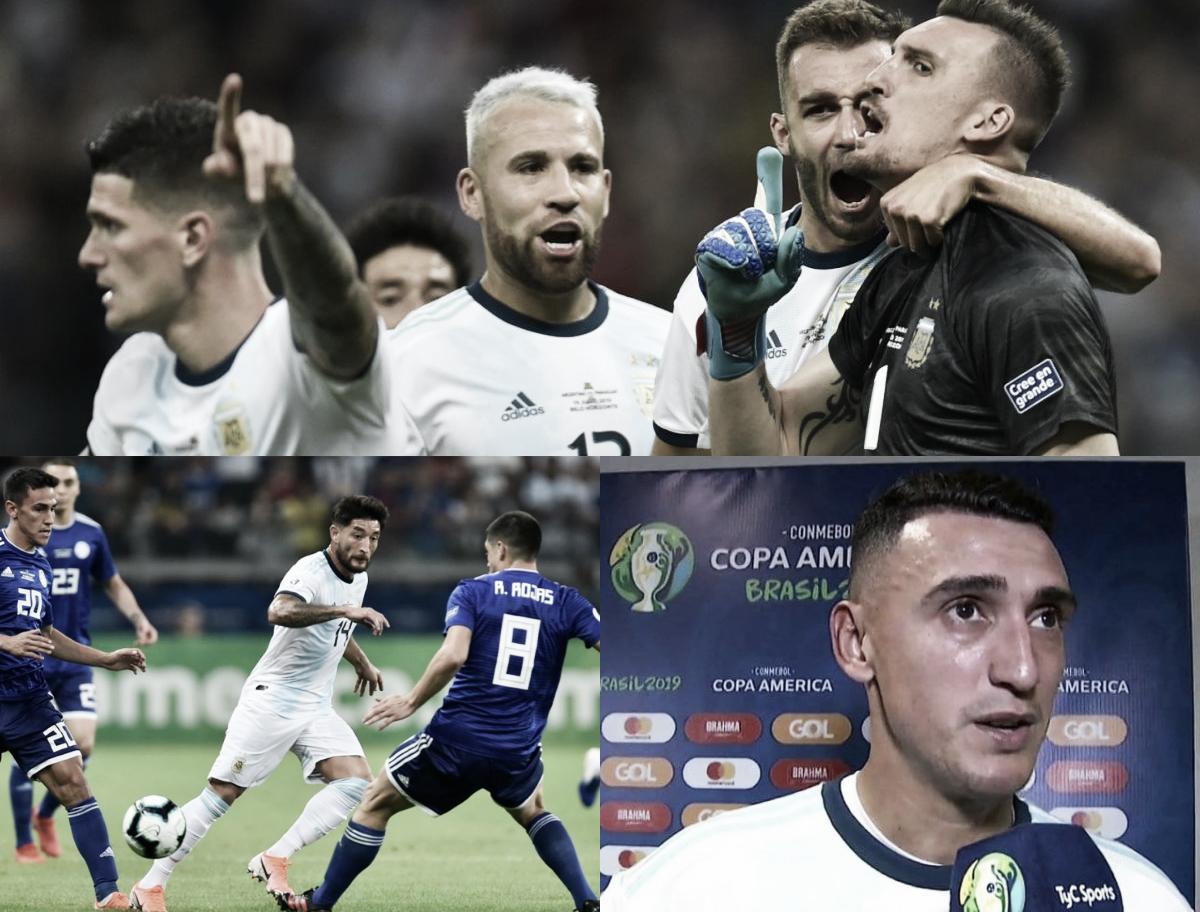 La actuación de los Riverplatenses en la Copa América