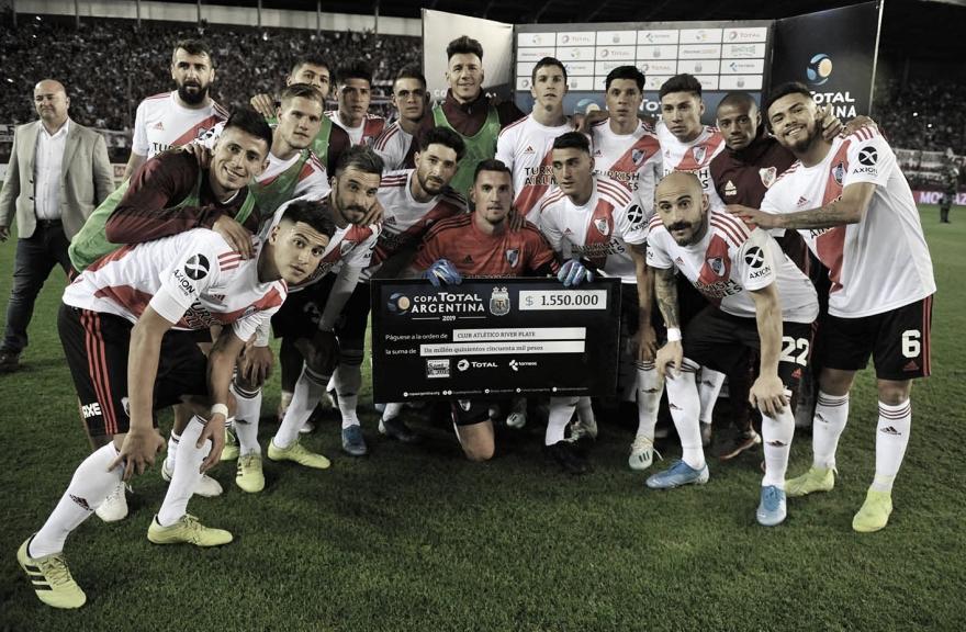 La impresionante racha del Millonario en Copa Argentina