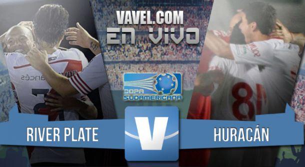 Resultado River Plate - Huracán en Copa Sudamericana 2015 (0-1)