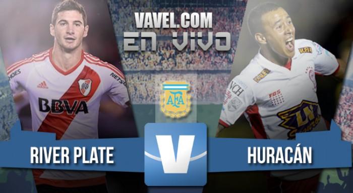 Resultado partido River Plate vs Huracán (1-0)