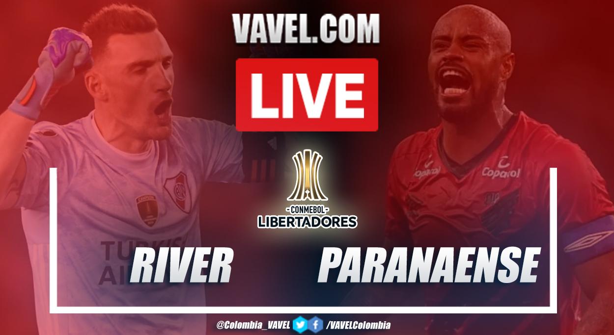 Resumen: River vs Paranaense (1-0) en Copa Libertadores