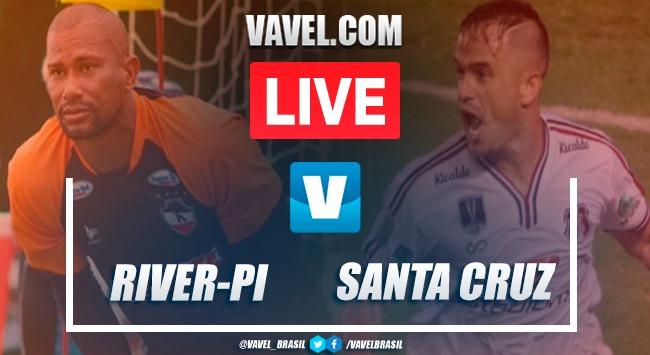 Gol e melhores momentos de River-PI 0-1 Santa Cruz pela Copa do Nordeste 2020