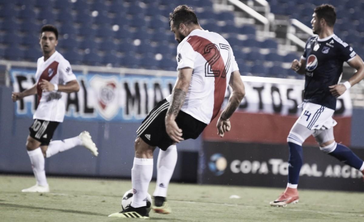 River Plate le dejó a Millonarios mucho para trabajar