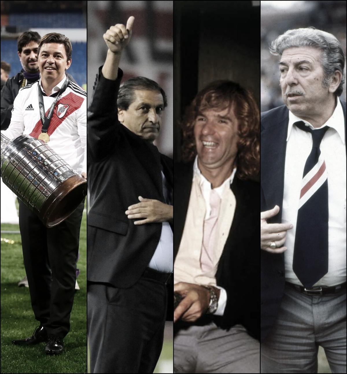 Los mejores entrenadores de la historia Millonaria