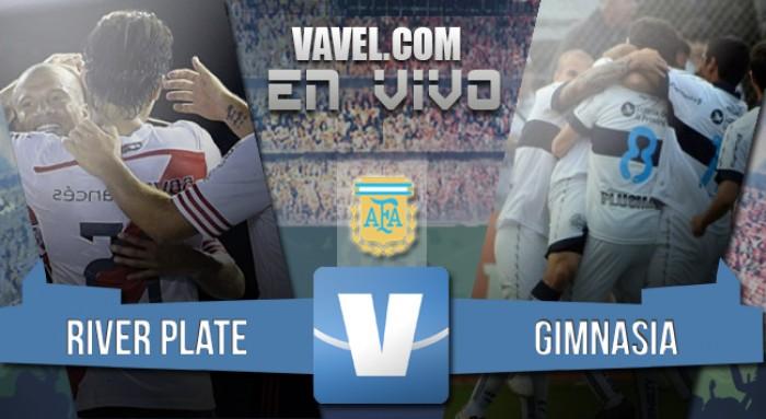 River 1-0 Gimnasia: victoria entre lágrimas