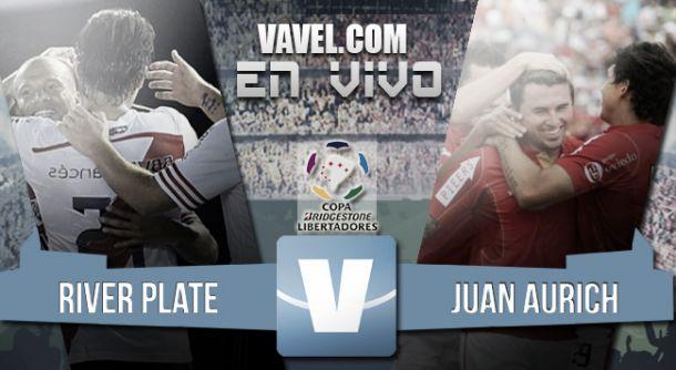 Resultado River Plate - Juan Aurich por la Copa Libertadores 2015 (1-1)