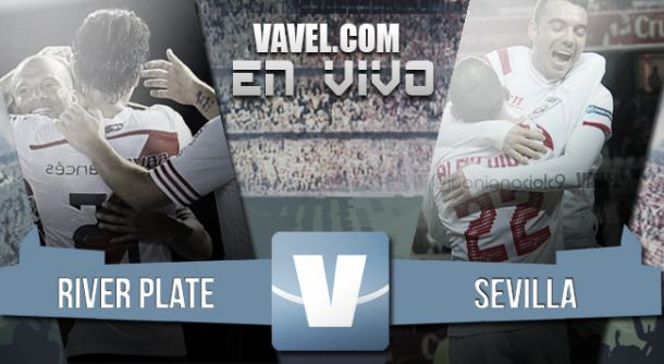 Resultado River Plate vs Sevilla en vivo (1-0)