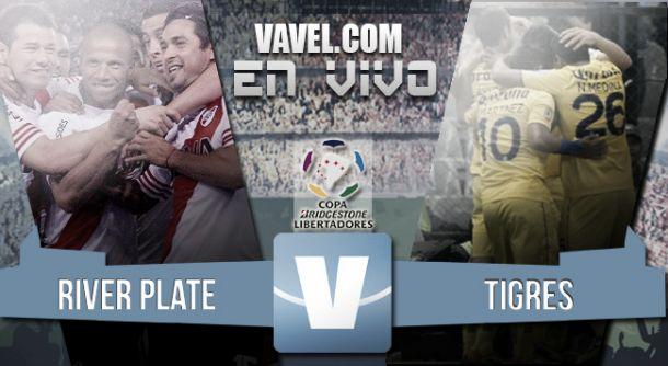 Resultado River Plate - Tigres por la Copa Libertadores 2015 (1-1)