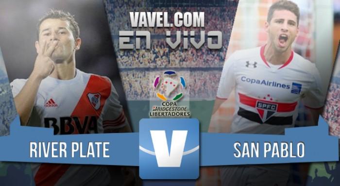 Final River - San Pablo por la Copa Libertadores (1-1)