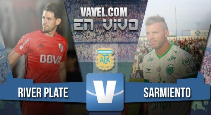 River Plate vs Sarmiento en vivo y en directo online (0-0)