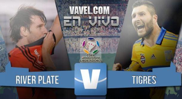 Resultado River - Tigres en vuelta de la final Copa Libertadores 2015 (3-0)
