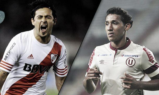 Resultado River Plate - Universitario por la Copa Bandes 2015 (0-1)