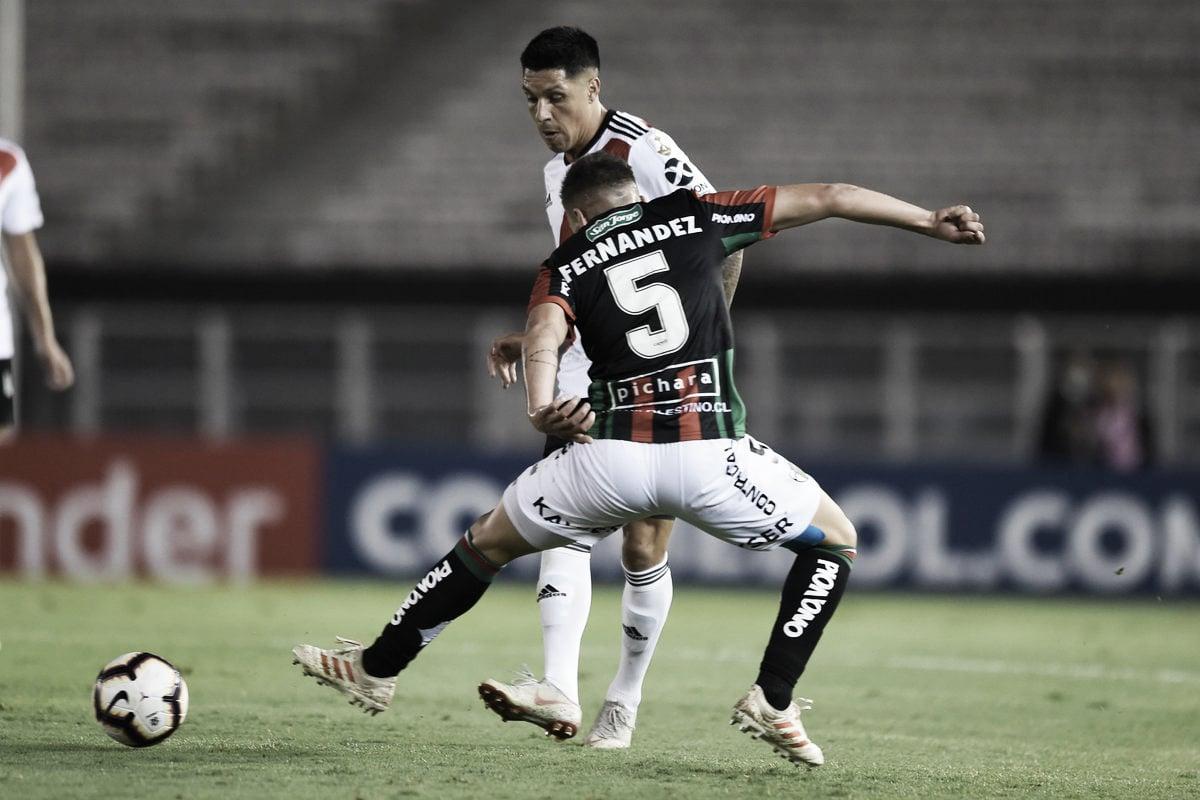 River empató sin goles frente a Palestino