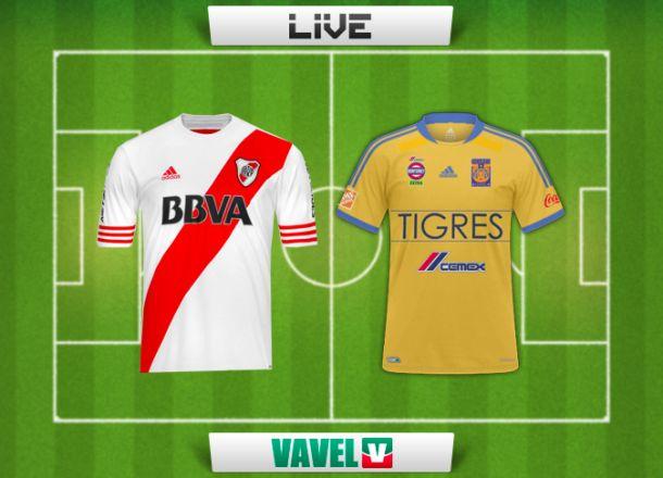 Resultado River Plate - Tigres UANL (1-1)