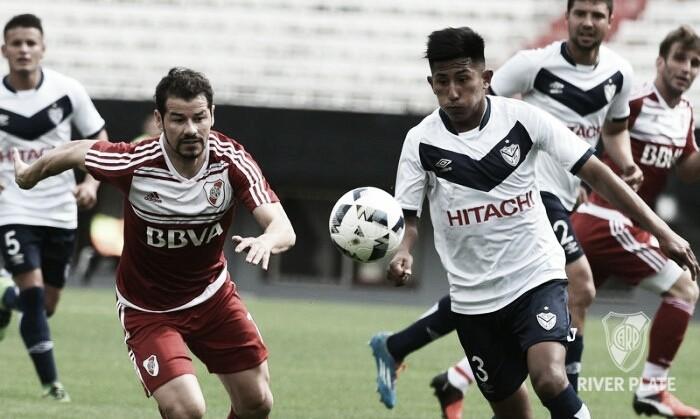 River reforzado cayó ante Vélez con la mínima de 1-0