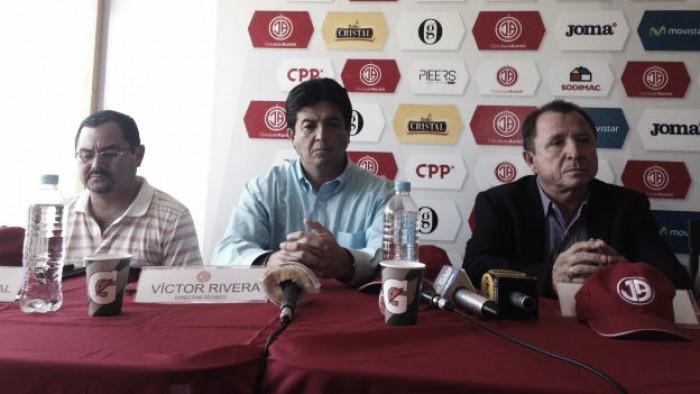 Víctor Rivera fue presentado como nuevo D.T de Juan Aurich
