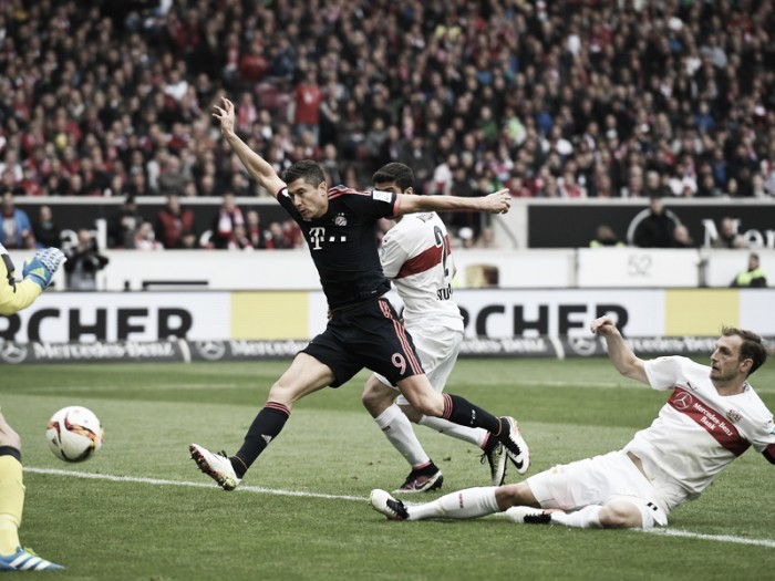 VfB Stuttgart 1-3 Bayern Munich: Reigning champions march closer to another title