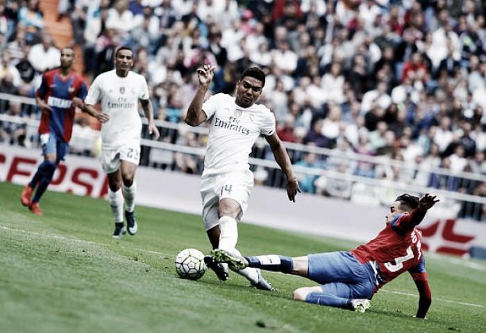 Ainda sem Ronaldo, Real Madrid recebe Levante após tropeço na rodada passada