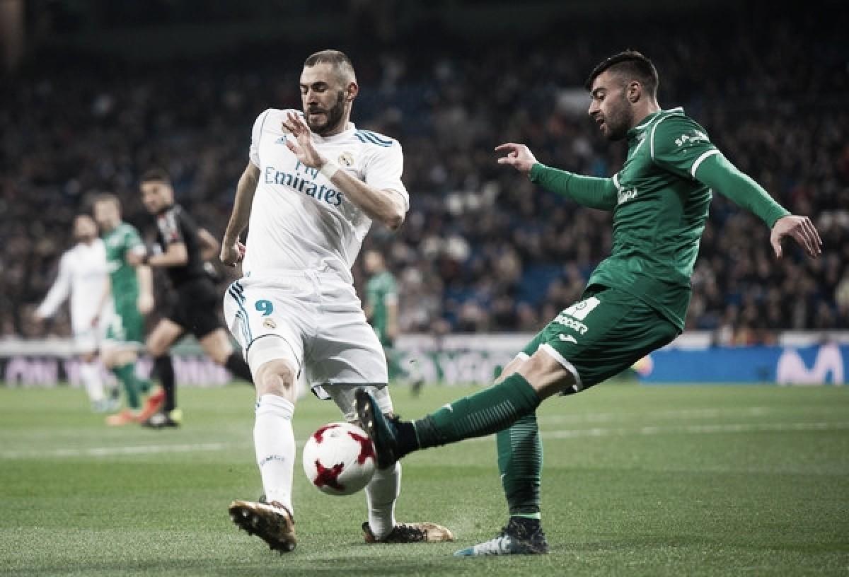 El Real Madrid-Leganés se jugará el sábado 28 de abril