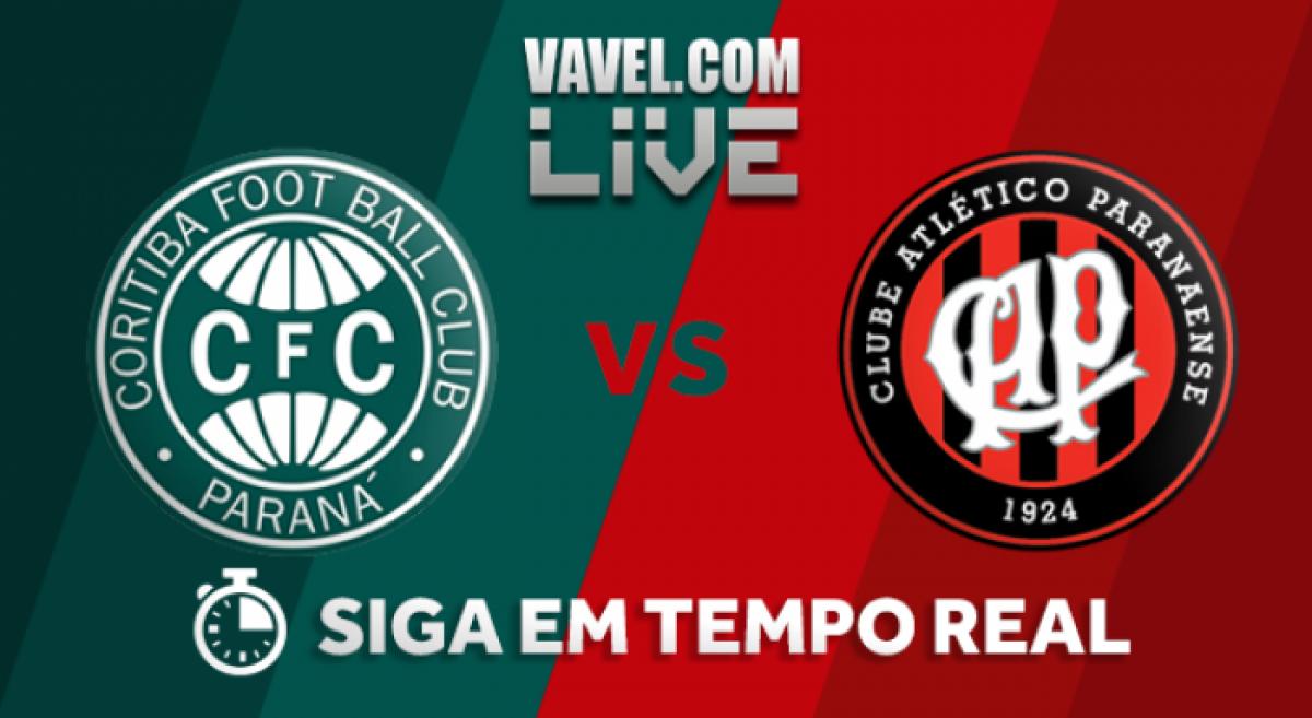 Resultado Coritiba x Atlético-PR AO VIVO online pelo Campeonato Paranaense  2018 (1-