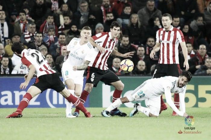 Liga, il Real Madrid sbatte contro l'Athletic e perde un'occasione