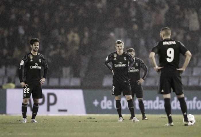 Real Madrid, fuori dalla Copa e con gli uomini contati