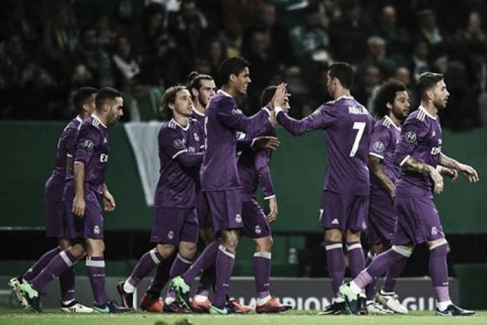 Champions League, il Real torna dall'Alvalade con i tre punti ma con Bale k.o.