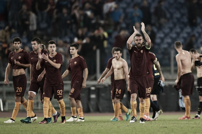 Roma vence clássico diante da Inter e se aproxima das primeiras colocações na Serie A