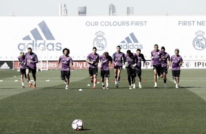 Último entrenamiento antes de recibir al Villarreal
