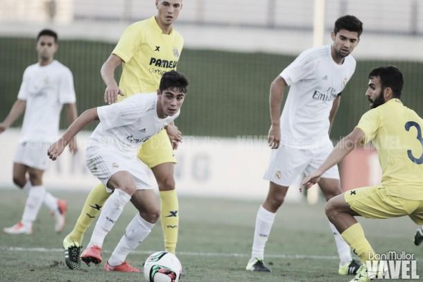 Resultado Gernika - Real Madrid Castilla en directo online en Segunda B 2015 (1-0)