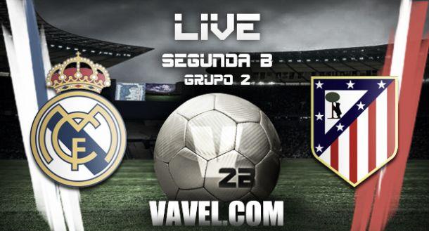 Resultado Real Madrid Castilla - Atlético de Madrid B en la Segunda ...