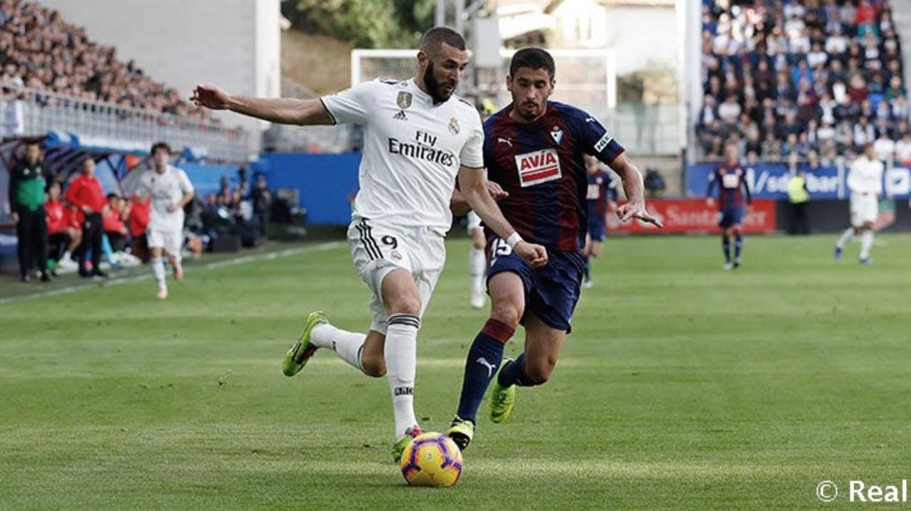 ¿Dónde y cómo ver el partido Real Madrid - Eibar por TV y horario?