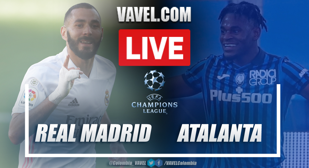 Resumen Real Madrid vs Atalanta (3-1) en octavos de final por UEFA Champions League 2020/21
