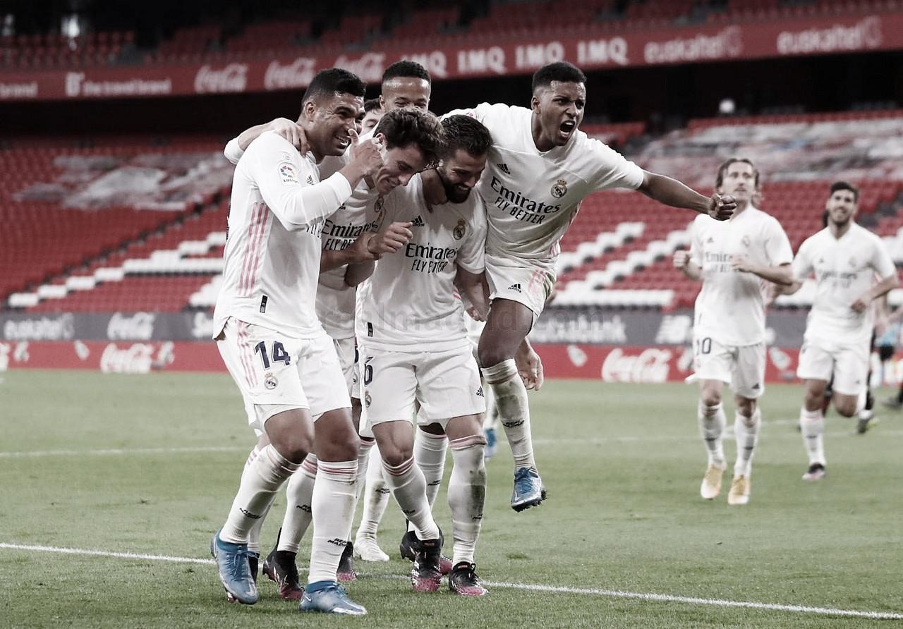 El Real Madrid llega a la última jornada con opciones de ganar LaLiga