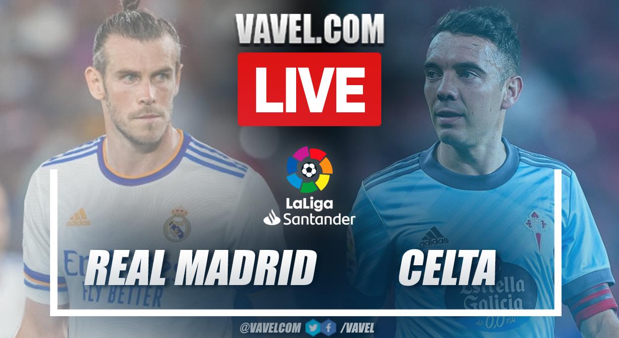 Gols e melhores momentos para Real Madrid 5x2 Celta de Vigo por La Liga