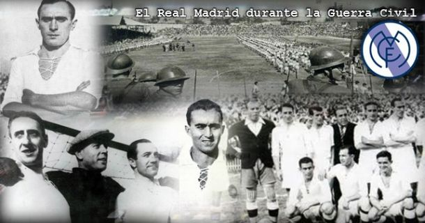 Real Madrid during the Spanish Civil War