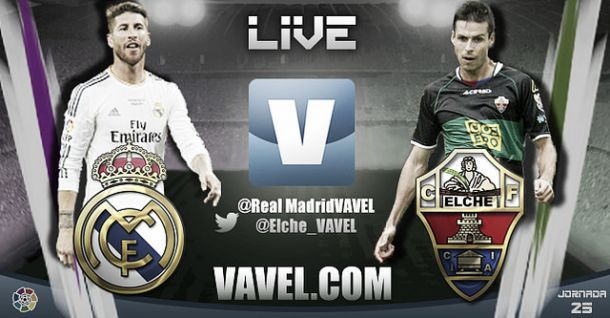 Live Real Madrid - Elche, le match en direct