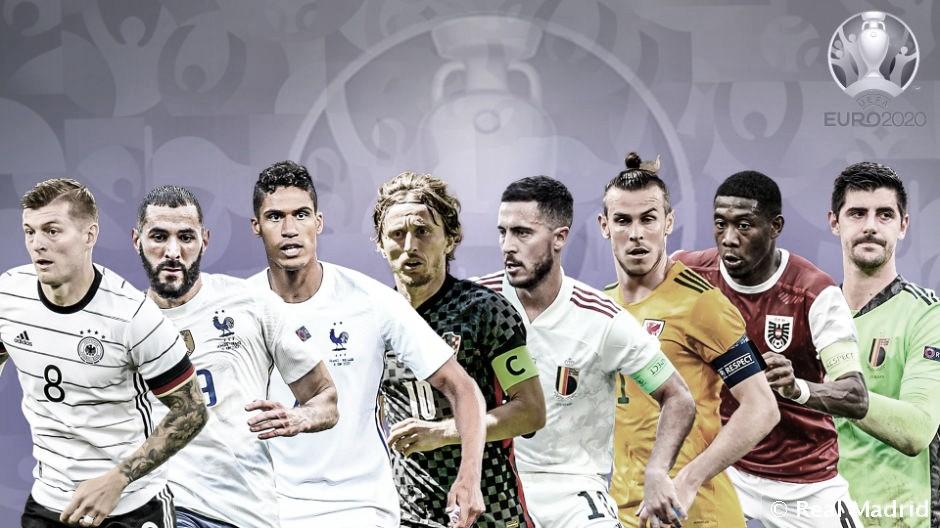 Ocho madridistas en la Eurocopa, seis ya están en octavos