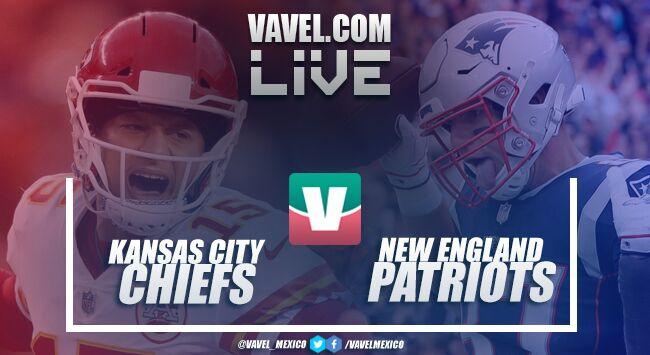 Resultado y touchdowns del Chiefs 40-43 Patriots en NFL 2018