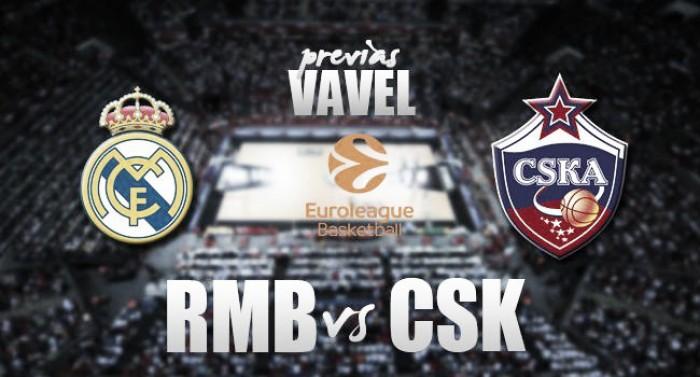 Previa Real Madrid - CSKA Moscú: mero trámite de Euroliga