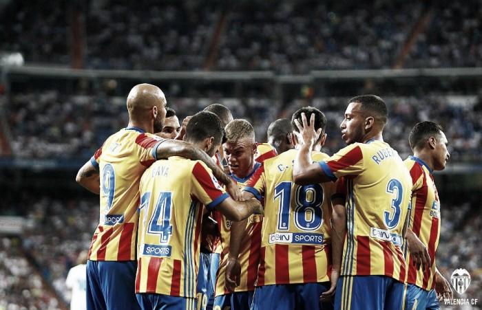 Real Madrid - Valencia: las puntuaciones del Valencia, Jornada 2 de La Liga