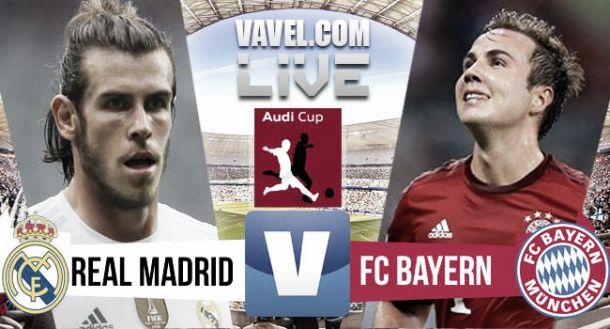 Real Madrid - Bayern Munich Score in Audi Cup Final 2015 (0-1)