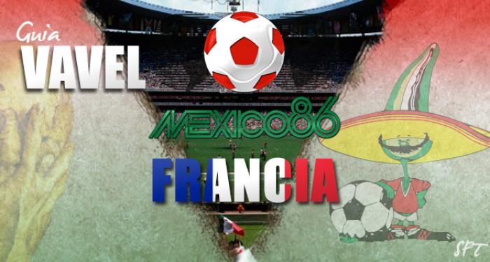 Guía VAVEL Mundial México 1986: Francia
