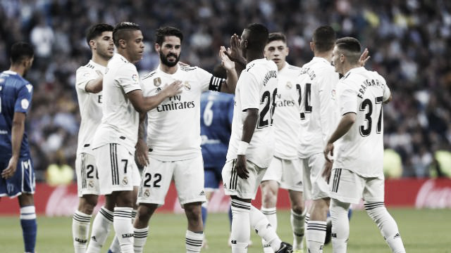 El Madrid se da un festín