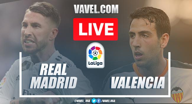 Goals and Highlights: Real Madrid 3-0 Valencia in 2020 La Liga