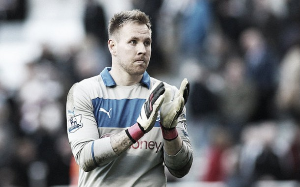 Rob Elliot leads apologies after Newcastle's 3-0 defeat to Leicester