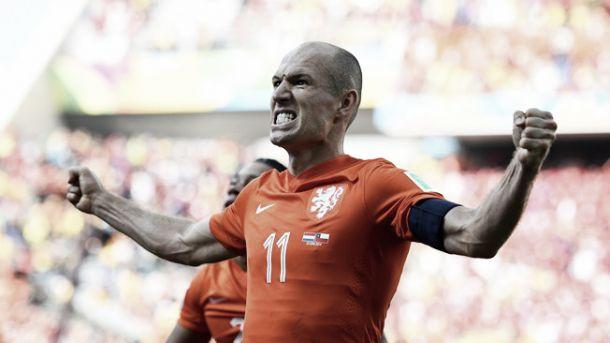 Arjen Robben conta vitórias para voltar à final da Copa do Mundo